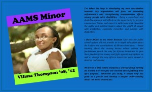 My Winthrop University Alumni Profile as to Why I Chose to be an AAMS (African-American Studies) Minor in undergrad.