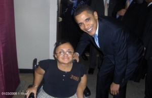 Then Sen. Barack Obama & I after his campus campaign rally at Winthrop University (my alma mater).  This was taken January 2008.