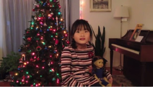Melissa Shang with American Girl Doll 1