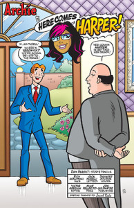Archie Comics, Harper 1
