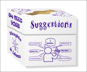 Suggestions Box 1