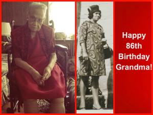 Grandma's 86th Birthday Collage
