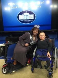 Me and Yvette Pegues, Miss Wheelchair USA 2014-2015